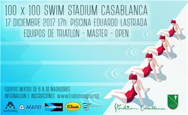 100 x 100 Swim Triatlón Stadium Casablanca