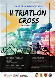 II Triatlón Cross Popular Mas de la Punta - Caspe