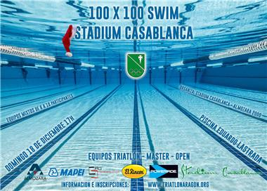 100 x 100 Swim Stadium Casablanca (Triatlón, Master, Open)